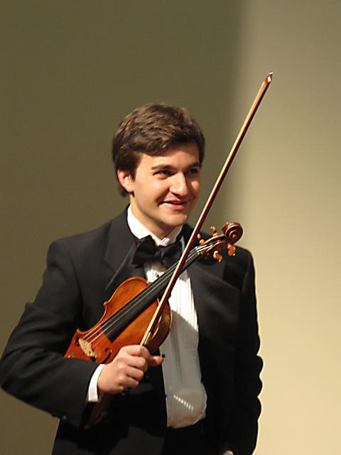 Master of Music, Violin Performance