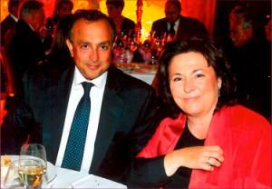 Celeste e Bruno Piperno,  hosts of The Monaciano Symposium